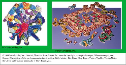 Trick puzzles